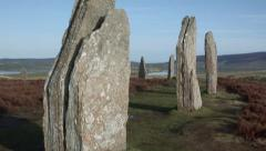 Ring of Brodgar, Orkney Stock Footage