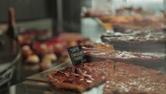 Apple Pie - Boulangerie Stock Footage