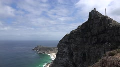 Cape Point (South Africa) 4K footage Stock Footage