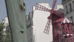 Slide Moulin Rouge Stock Footage