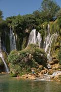 Stock Photo of Kravice waterfalls in Bosnia Herzegovina