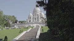 Mini Slide / Sacré coeur Stock Footage