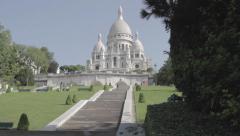 Sacré Coeur, Paris Stock Footage