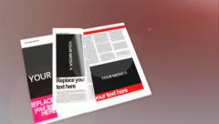 Magazine Slideshow for AE Stock After Effects