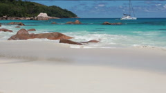 seychelles beaches - stock footage