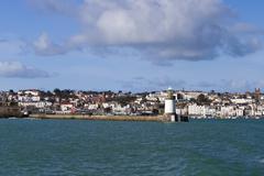 St. Peter Port  Guernsey - stock photo