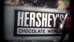 (Super 8 Film) Hershey Chocolate Visit 1974 Stock Footage