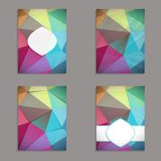 Stock Illustration of Abstract geometric background