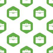 Briefcase pattern Stock Illustration