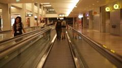 Ben-Gurion International Airport, Tel-Aviv, Israel 9 Stock Footage