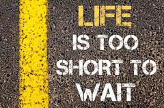 Motivational quote - stock illustration