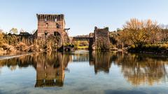 Old castle on the lake Stock Photos