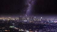 Stock Video Footage of Meet The Milky Way In L.A.