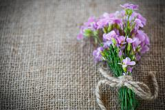 Stock Photo of bouquet of spring flowers