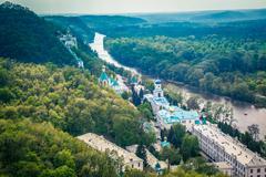 Svyatogorsk monastery - stock photo