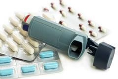 Asthma Medication Kuvituskuvat