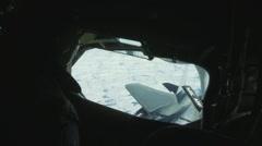 KC-135 Stratotanker Aerial Refueling Stock Footage