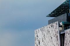Expo Milano 2015. Palazzo Italia - stock photo