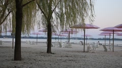 Toronto Sugar Beach Stock Footage
