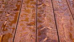 Abstract raindrops pattern on wooden board. Background. - stock photo