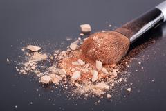 Stock Photo of Face foundation powder