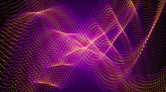 Purple abstract background, form, loop Stock Footage