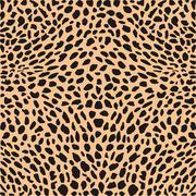 Skin cheetah decor - stock illustration