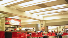Cafe in Airport 2 Stock Footage