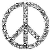 Peace Sign Stock Illustration