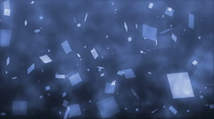 Blue glitter background. Stock Footage