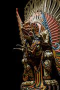 Garuda statue of the Hindu. Woodland Museum In Nakhon Pathom - stock photo