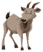 A goat Stock Illustration
