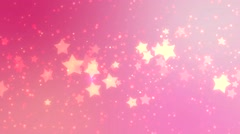 Stars multicolored bright motion background. Stock Footage