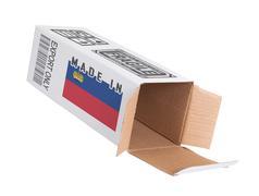 Stock Photo of Concept of export - Product of Lichtenstein