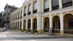 Cultural Institute of Macao Stock Footage