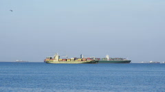View Big Cargo Container Ships  Stock Footage