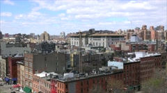 Cityscape of SoHo District in New York City, USA Stock Footage