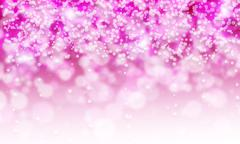 Stock Illustration of Pink and white glitter sparkle on white background