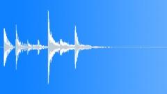 Fast discrete percussive checkpoint Sound Effect