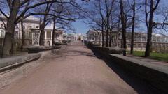 Cameron gallery. Pushkin. Catherine Park. Tsarskoye Selo. Stock Footage