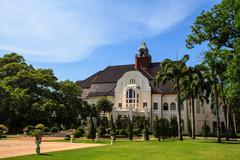 PHRA RAMRAJNIVET PALACE (Wang Ban Peun) The Memories - stock photo