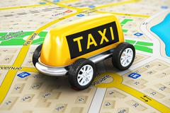 Taxi service concept Stock Illustration