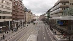 Stockholm street Stock Footage