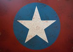 Army Star Military Vintage Piirros