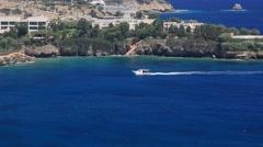 Agia Pelagia Crete Stock Footage