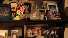Family Portraits in GUAM, USA- CIRCA February, 2011 Stock Footage