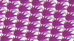 4k Abstratct paper cut pattern background,fractal geometry wallpaper backdrop. Stock Footage