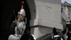 Horse Guard, London. Day   HD 1080 Stock Footage