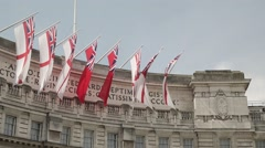 Admiralty Arch, London. Day | HD 1080 Stock Footage