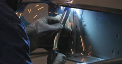 Stock Video Footage of Welding torch